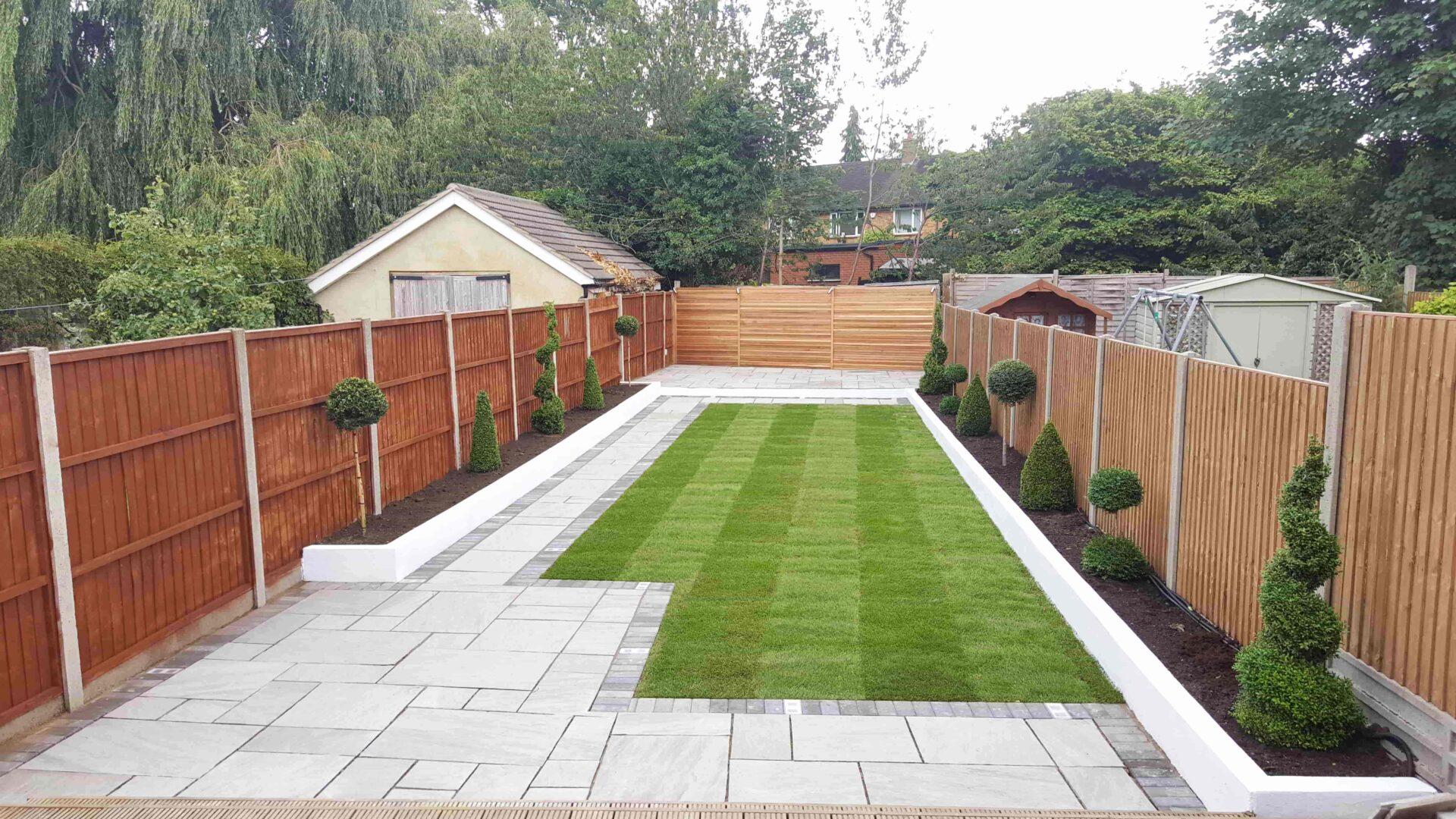 Home Slider garden